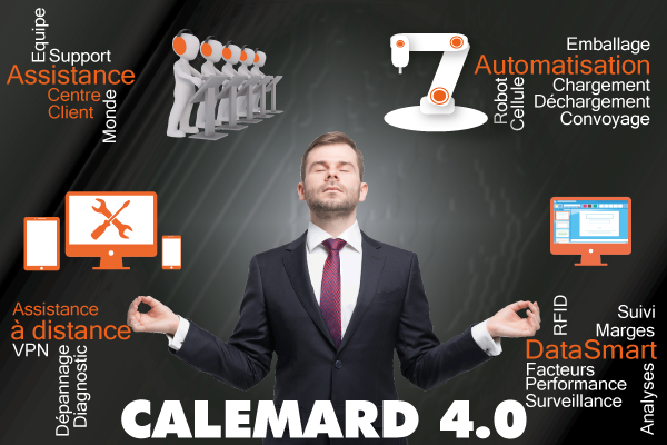Calemard 4.0 pour vous aider à rentrer dans l'Industrie 4.0